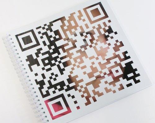 libreta de la imprenta cg con codigo qr
