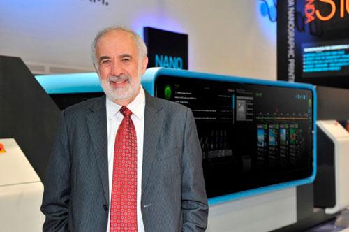 Benny Landa, inventor del sistema nanográfico