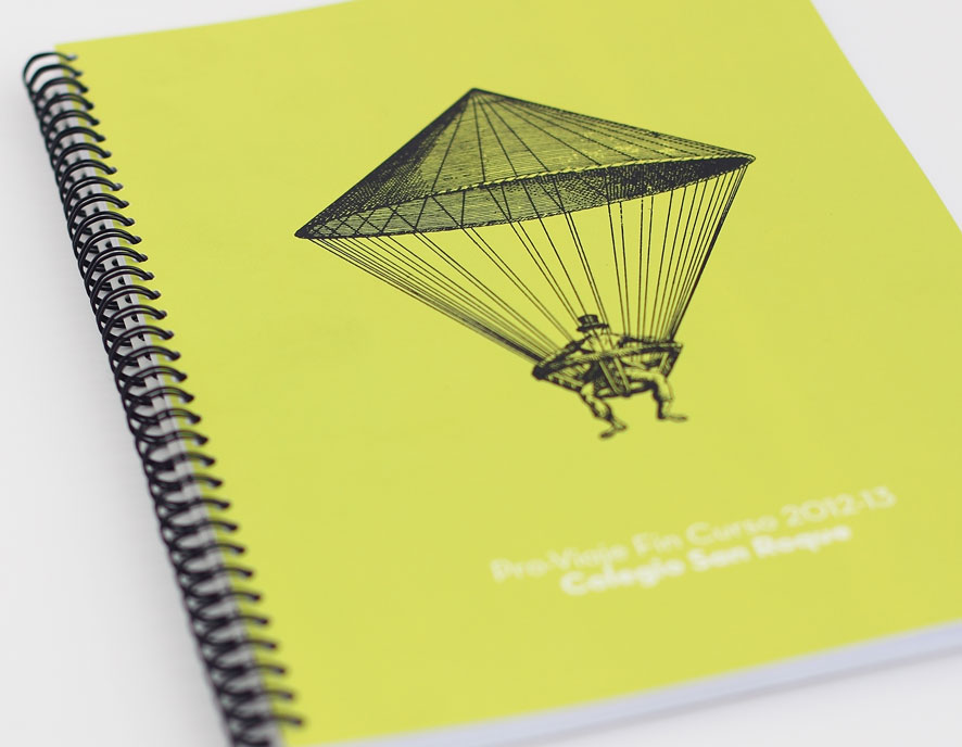 Libreta A4 Wire-o de Imprenta Digital © La Imprenta Comunicación Gráfica S.L