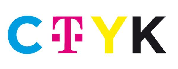 Broma con el logo T-Mobile