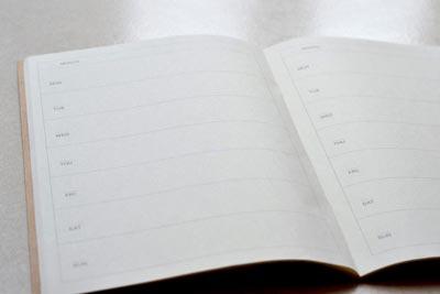 agenda Muji