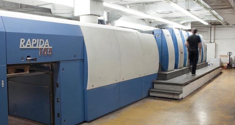 maquina para imprimir libros en offset