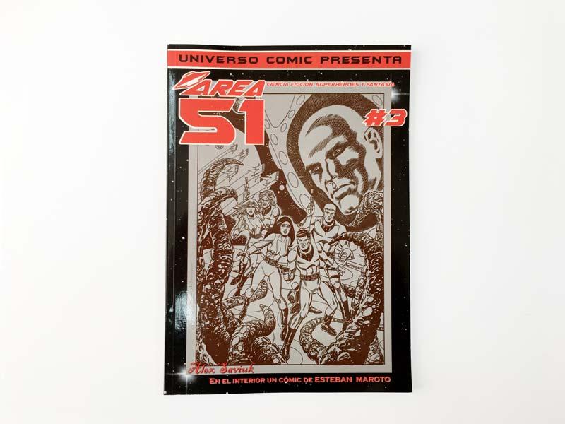 comic area 51 portada