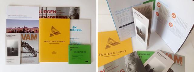 Ejemplos de folletos impresos en La Imprenta CG