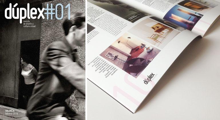 Foto interior de la revista Dúplex , imprimir revistas con nosotros te dará esta calidad