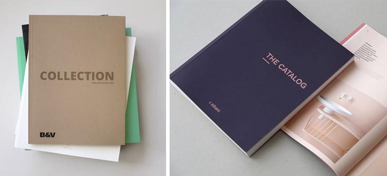 Ejemplo de catálogos con una imagen muy cuidada