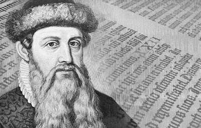 gutenberg inventó la imprenta