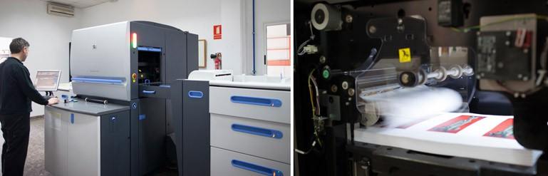 impresora digital la imprenta cg