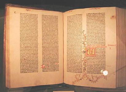 biblia impresa por gutenberg