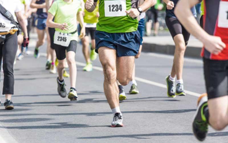 Dorsal carrera atletismo