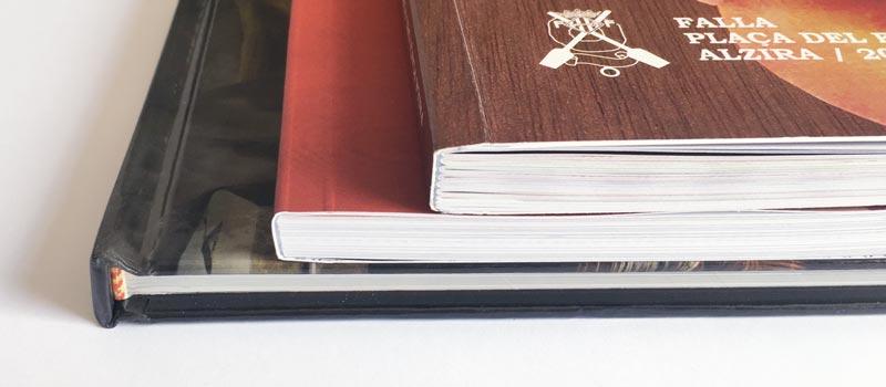 ejemplos de como encuadernar libros de fiestas