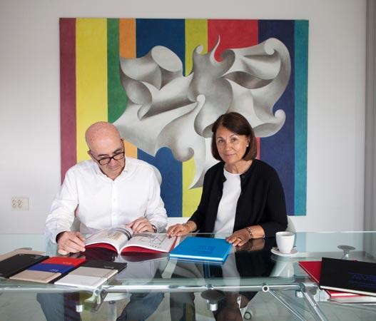 Juan Senent y Marivi Borreda Gerentes de La Imprenta