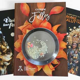 portadas de libros de fiestas