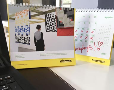 ejemplo de calendarios personalizados