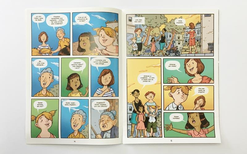 Comic El Cant dels Angelets 1