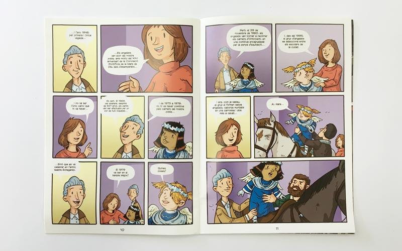 Comic El Cant dels Angelets 2