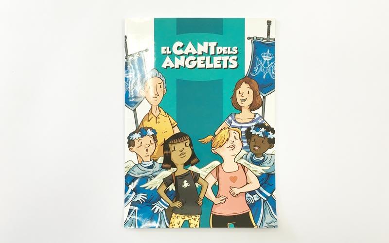 Coberta comic El Cant dels Angelets