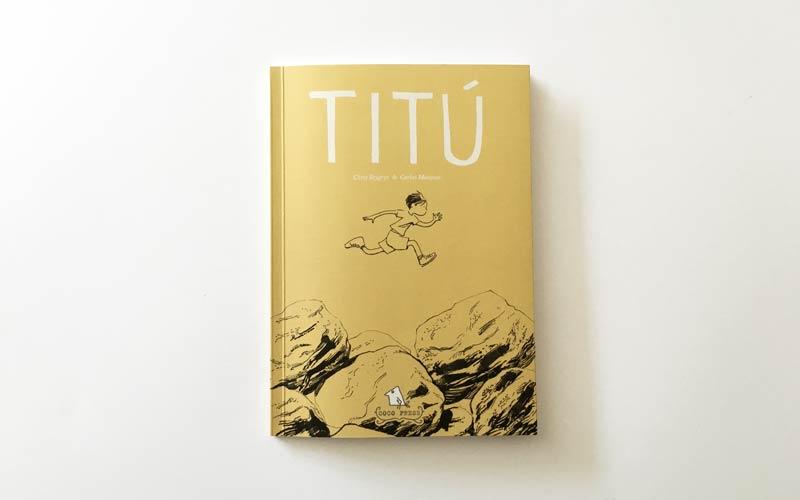 Portada del Cómic Titu