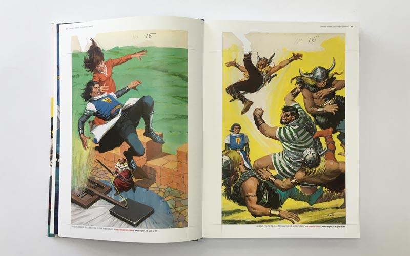 Portadas del Comic El Capitan Trueno 1