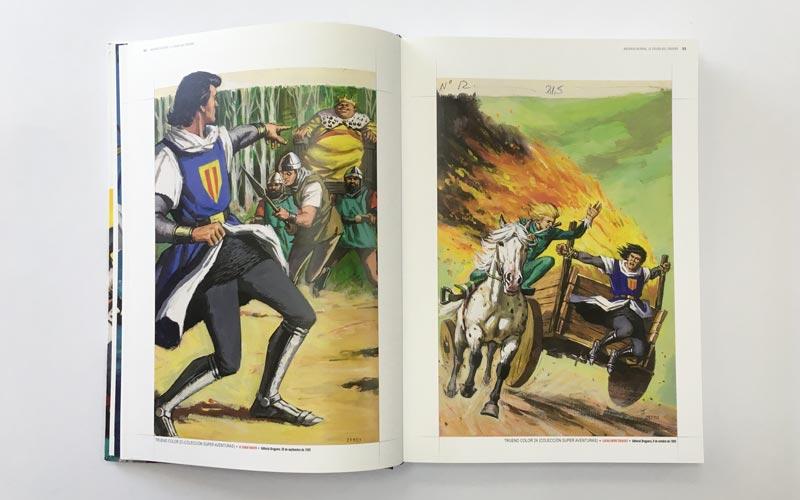 Portadas del Comic El Capitan Trueno 3