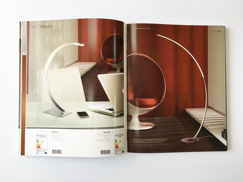 I29 un cat logo de iluminaci n impreso en la imprenta cg - Catalogo de iluminacion interior ...