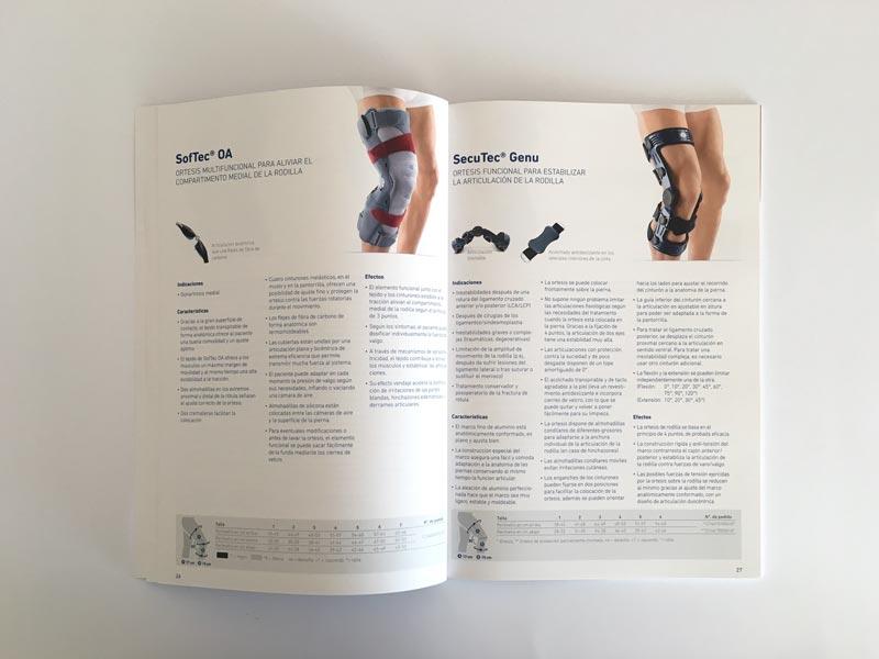 tarifa de protesis impresa en la imprenta cg