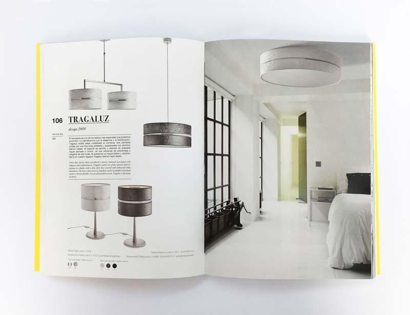 Interior del catálogo de Massmi
