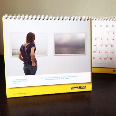 Imagen de nuestro calendario, con fotos de Kalo Vicent