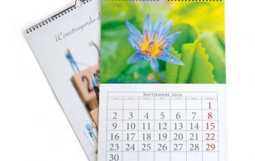 calendario pared wire-o