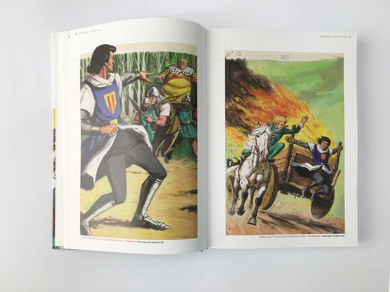 Ilustración de Antonio Bernal para El Capitan Trueno