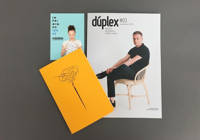 revista-duplex-y-libreta-cosida-iban-ramon