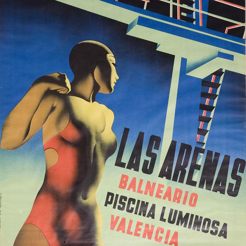 Cartel Las Arenas Josep Renau