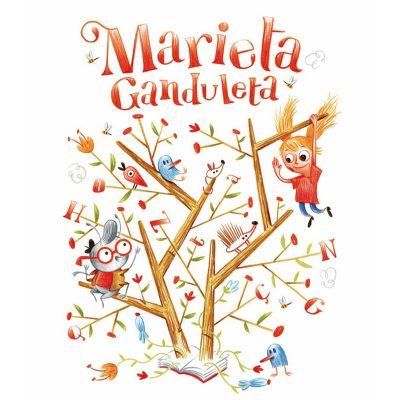 Marieta Ganduleta impresión libro infantil