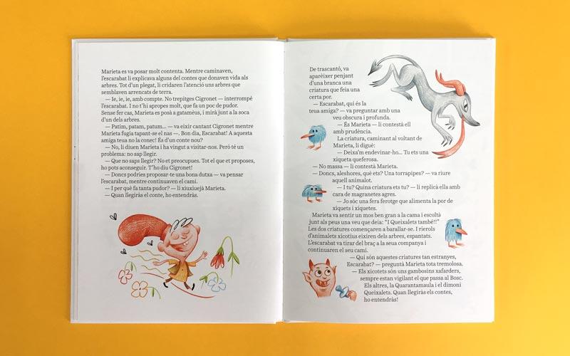 Marieta Ganduleta imprimir cuento niños