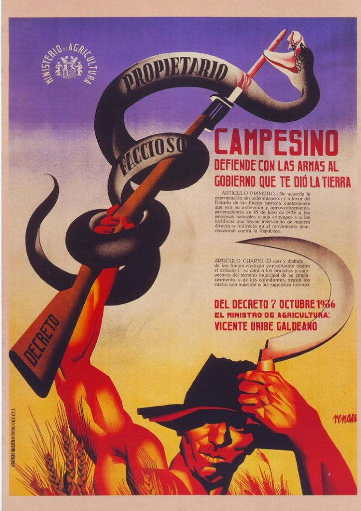 Cartel de la Guerra Civil de Josep Renau