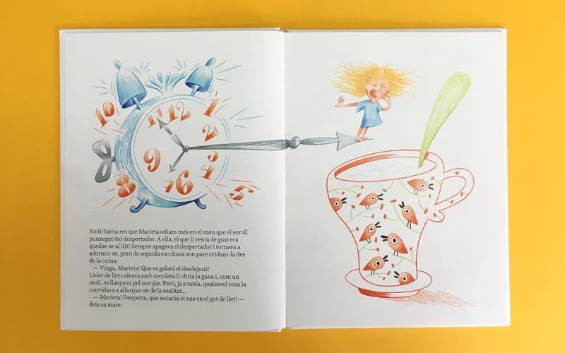 Marieta Ganduleta impresión libro niños
