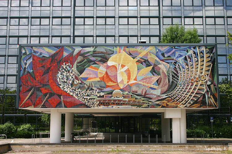 Mural de Halle de Josep Renau