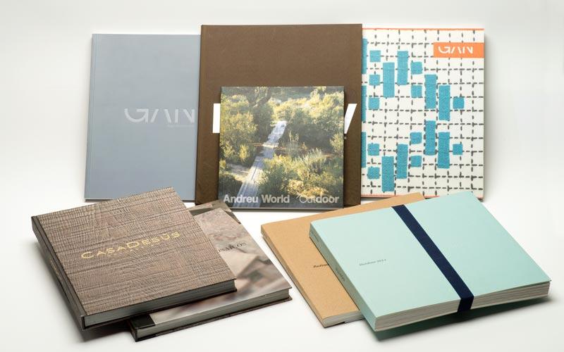 muestras de catalogos de lujo impresos en offset