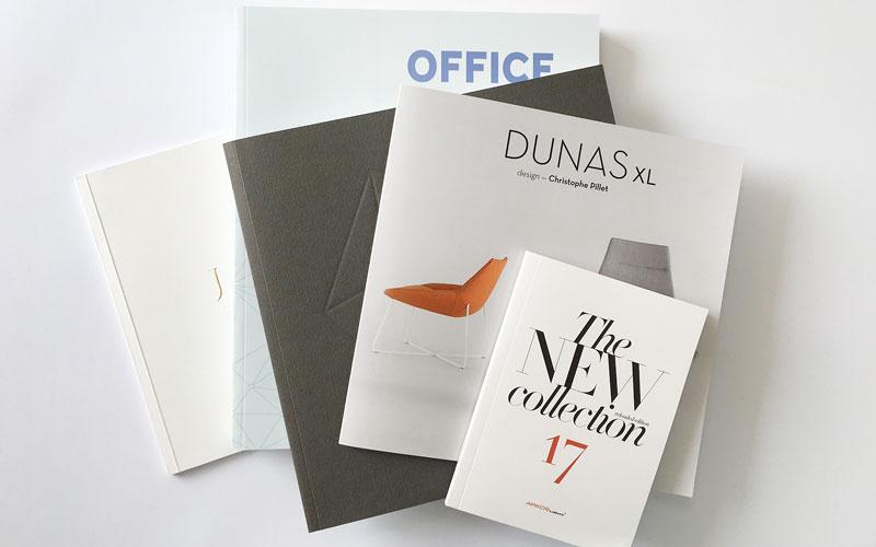 ejemplos de impresión de catalogos en rústica