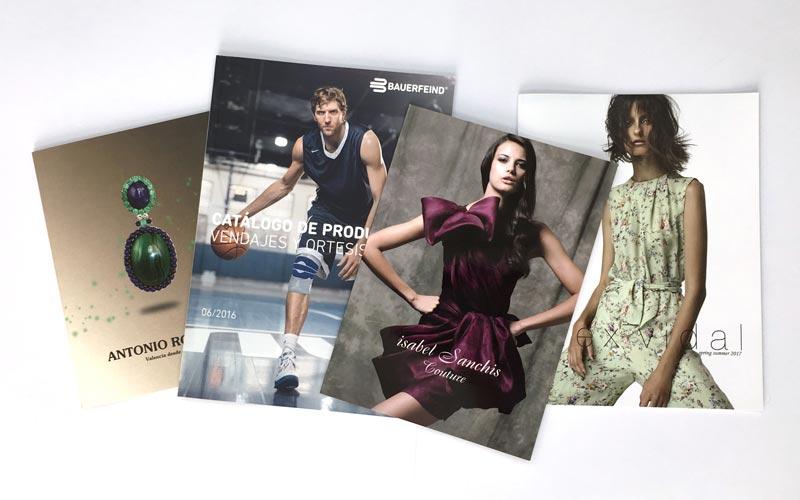 ejemplo de impresión offset moda y producto
