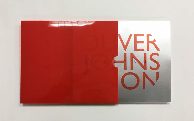 impresión de libro de arte contenedor acetato