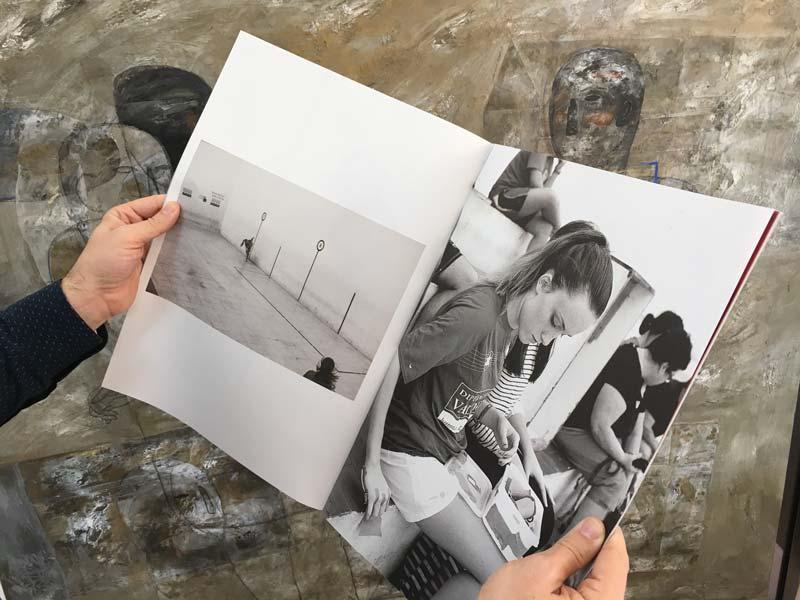 interior de la revista Ferida, impresa en La Imprenta CG