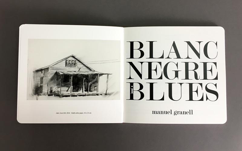 portadilla del libro blanc, negre i blues La Imprenta CG