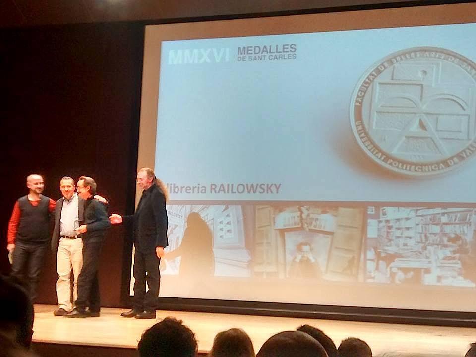 Railowsky medalla bellas artes