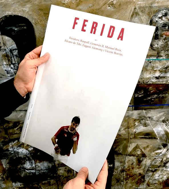 Revista Ferida, Impresa en la imprenta cg