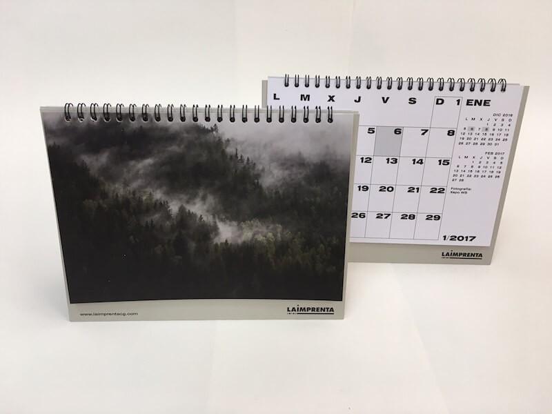 Calendario de La Imprenta CG 2017