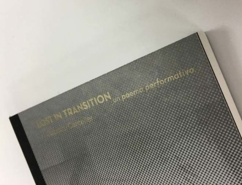 Imprimimos el libro de la muestra Lost in Transition _un poema performatiu