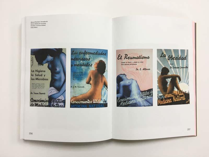 Interior de la impresión del catálogo Tot està per fer, València Capital de la República