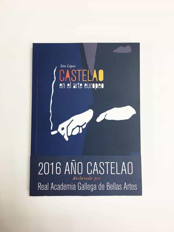 Portada del libro impreso Castelao en el arte europeo
