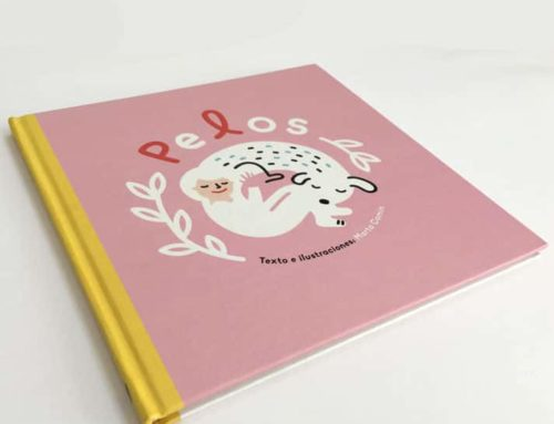Imprimimos el libro Pelos, de la ilustradora Marta Comín